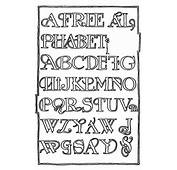 Fancy Letters Of The Alphabet To Print Capital