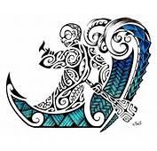 Mejor Plantilla Diseño De Tatuaje Maori 2012 Tiki Polinesio Remando