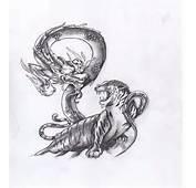 Tattoo Tiger Dragon By YukiPandaz