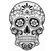 Sugar Skull Coloring Page  AZ Pages