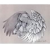 Warrior Angel Tattoo Drawing Mary Angels Arm Tattoos Rib