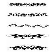 Celtic Tribal Band Tattoo Designs Armband