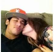 Bruna Marquezine Kissing Neymar On The Cheek