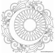 Free Mandala Designs To Print Its Like An Adult Coloring Page