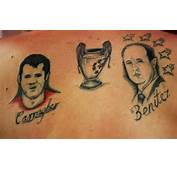 Football Fan Tattoos The Best And Worst In Pictures  TalkSPORT