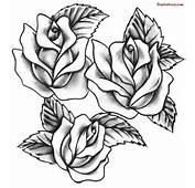 Gothic Rose Vine Drawing Beautiful Tattoos Sketch