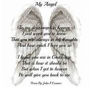 Daveswordsofwisdomcom My Angel