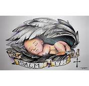 Prints Angel Baby Wings Feathers Lighthouse By RighteousRebelz