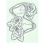 Hourglass Drawing Tattoos Pictures