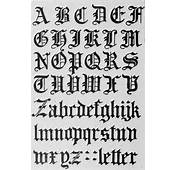 Pics Of Gothic Letters  Graffiti Alphabets