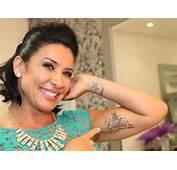 Scheila Carvalho Exibe Tatuagem Com Nome Da Filha Thiago Duran/AgNews