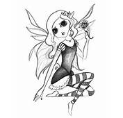 Pin Gothic Pencil Drawings Fairies Coloring Pages Ajilbab On Pinterest