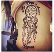 One Of The Common Native American Tattoo Designs Is Dream Catcher