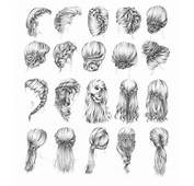 Braid Long Hair Hairstyle Fishtail French Pale Faded