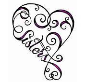 Heart Sister Tattoo Christina Childress