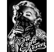 Gangsta Marilyn  Monroe Pinterest
