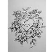 Love Tattoo Drawings Pencil