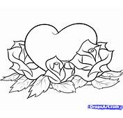 How To Draw Hearts And Roses Step By Tattoos Pop Culture FREE