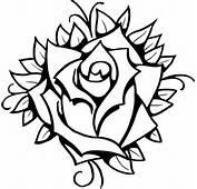 Rose «Line Drawing «Other «Tattoo Tattoo Design Art Flash