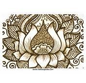 Lotus Flower Henna Tattoo Designs 7  Tattoospedia