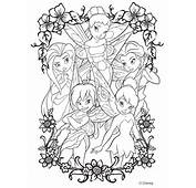 Fairies Coloring Pages  To Print