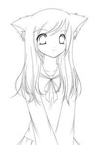 Chibi Anime Girl Coloring Pages Cute chibi coloring pages free