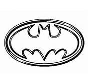 Batman Symbol Coloring Pages