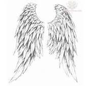 Angel Wings Tattoos Design