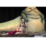 Jabba The Hutt And Princess Leia Video