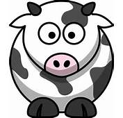 Free Farm Animal Vector Illustration Black And White Patterned