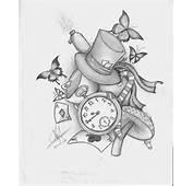 Alice In Wonderland Desing Tattoo By Nem Metalhead On DeviantArt