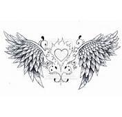 Angel Wings Tattoo Design By Born2Art