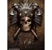Tribe Chief Skull Design  Tattoos &amp Designs Pinterest
