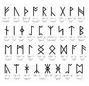 The Runic Alphabets Were A Set Of Related Using Letters