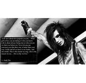 Anti Bullying Andy Biersack Quote Black Veil Brides