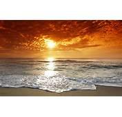 Beach Sunset Wallpaper Desktop 1920x1200