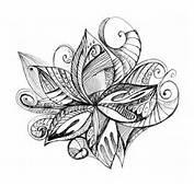 Ideas Para Tu Tattoo Flor Abstracta