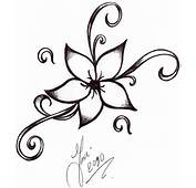 Flower Tatoo Drawing  Princessart © 2015 Nov 20 2011