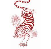 Tiger Tattoo Flash Art Commission By Megantoy On DeviantArt