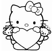 Hello Kitty Coloring Pages 3