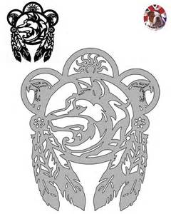 Free wolf dreamcatcher coloring pages