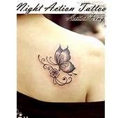 Cute Butterfly Tattoos For Girls On Shoulder Images &amp Pictures  Becuo