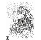 Skull N Roses By EverIris On DeviantArt