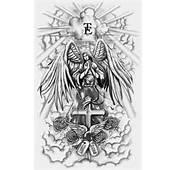 Angel Full Sleeve Tattoo By Crisluspotattoos Designs Interfaces