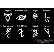 From The Mortal Instruments City Of Bones Shadowhunters Guide
