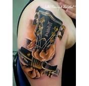 Guitar Tattoos – Bass &amp Acoustic Tattoo Designs  Art