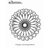 Abstract Coloring Page Printable