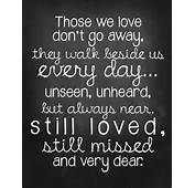 Missing Someone Who Has Passed Away Quotes Popular Items For
