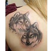Two Wolves Tattoo Wolf Tattoos For Shoulder