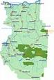 Central Oregon Map - Go Northwest! A Travel Guide